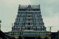 Thillai Nataraja寺庙,吉登伯勒姆, Tamilnadu,印度 库存图片