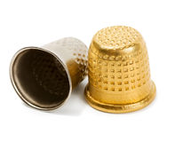 Thimble Royalty Free Stock Photo