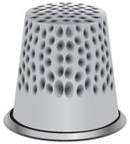 Thimble for hand sewing Stock Photography