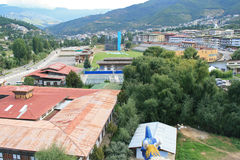 Thimphou - le Bhutan Images libres de droits