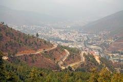 Thimphu, Butão fotografia de stock royalty free
