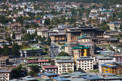 Thimphu, The capital of Bhutan Stock Photography