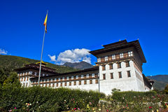 Thimphu Dzong Fotografia Stock