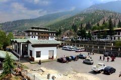 Thimpu Bus Stand Royalty Free Stock Photo