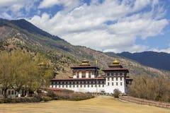 Thimpu dzong Royaltyfri Fotografi
