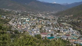 Thimpu Reino de Bhután Imagen de archivo
