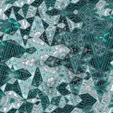 Thin abstract background in teal color for card or banner background. Thin background in teal color for card or banner background stock illustration