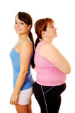 Thin And Fat Royalty Free Stock Photos