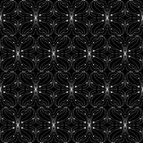 Thin black and white pattern Royalty Free Stock Photography