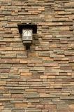 Thin Brick Lamp Royalty Free Stock Photo