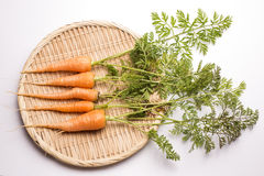 Thin carrots stock images