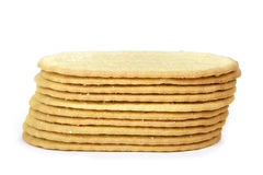 Thin cookies Stock Image