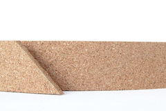 Thin cork roll closeup Royalty Free Stock Images