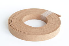 Thin cork roll Royalty Free Stock Images