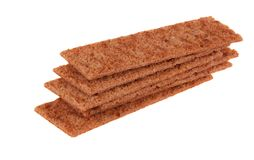 Thin crispbread Royalty Free Stock Photos