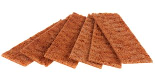 Thin crispbread Stock Photos