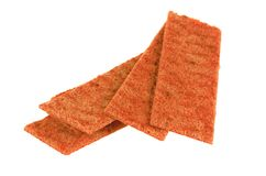 Thin crispbread Stock Image