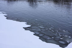 Thin Ice Stock Photo