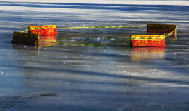 Thin Ice Royalty Free Stock Images