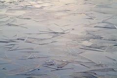 Thin ice Royalty Free Stock Photos