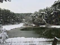Thin ice Stock Photos