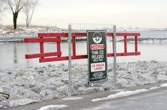 Thin Ice Stock Photography
