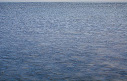 Thin ice on the sea Stock Photo