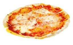 Thin italian pizza Margherita Stock Image