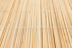 Thin light colored bamboo Stock Image