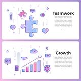 "Thin line icon layout design flat design concept """". Vector. Illustrate Stock Photos"
