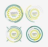 Thin line neat design logo set, premium quality Royalty Free Stock Images