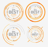 Thin line neat design logo set, premium quality Royalty Free Stock Photo