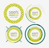 Thin line neat design logo set, premium quality Stock Photo