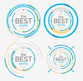 Thin line neat design logo set, premium quality Stock Image