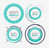 Thin line neat design logo set, premium quality Stock Photography
