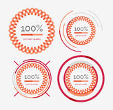 Thin line neat design logo set, premium quality Stock Photos