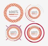 Thin line neat design logo set, premium quality Stock Photos
