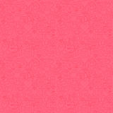 Thin Line Valentine Day Pink Seamless Pattern Stock Photography
