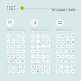 Thin line web icons collection for website and app design Stock Photo