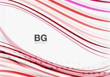 Thin lines wave abstract background Royalty Free Stock Image