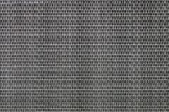 Thin metal horizontal louvers as background or backdrop Stock Images