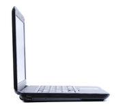 Thin modern laptop Stock Image