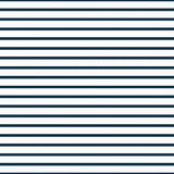 Thin Navy Blue and White Horizontal Striped Textured Fabric Back Royalty Free Stock Photo