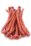 Thin sausages Stock Photo