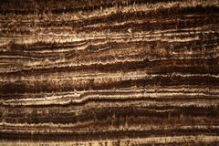 Thin section of a stalagmite Royalty Free Stock Images