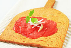 Beef Carpaccio Stock Photos