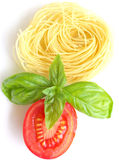 Thin spaghetti Royalty Free Stock Photo