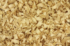 Thin wood chips  background Stock Photo