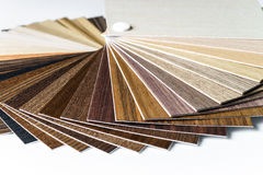 Thin wooden samples sheaf Royalty Free Stock Photography