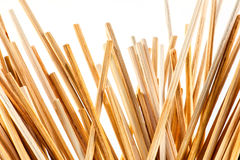Thin wooden sticks background Royalty Free Stock Image